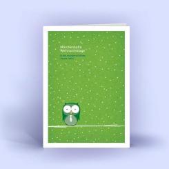 weihnachtskarten im din a6 format ein handschriftlicher. Black Bedroom Furniture Sets. Home Design Ideas
