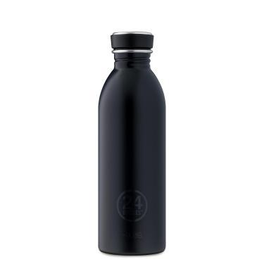 24Bottles Edelstahl Trinkflasche URBAN 500ml Tuxedo Black