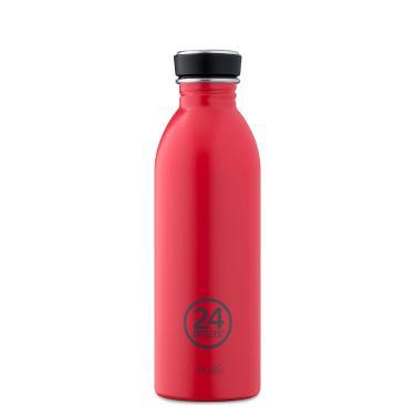 24Bottles Edelstahl Trinkflasche URBAN 500ml Hot Red