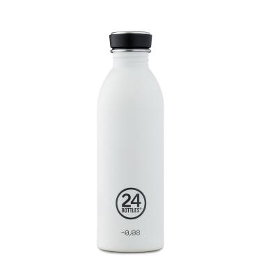 24Bottles Edelstahl Trinkflasche URBAN 500ml Ice White