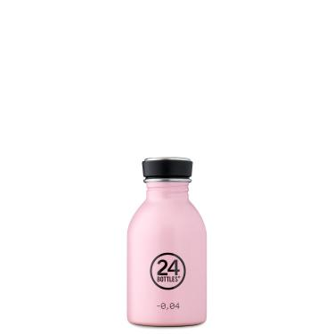 24Bottles Edelstahl Trinkflasche URBAN 250ml Candy Pink