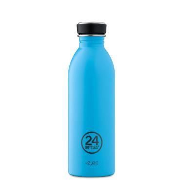 24Bottles Edelstahl Trinkflasche URBAN 500ml Lagoon Blue