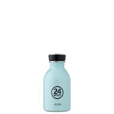 24Bottles Edelstahl Trinkflasche URBAN 250ml Cloud Blue
