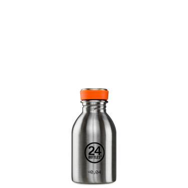 24Bottles Edelstahl Trinkflasche Urban 250ml Steel