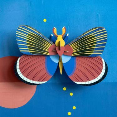 Wanddeko großer Schmetterling Studio Roof