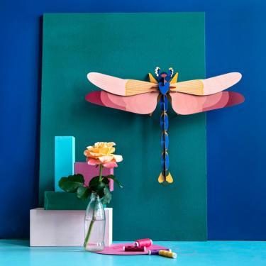 Wanddeko Libelle groß Studio Roof
