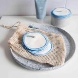 Waschbare Abschminkpads von EcoYou blau
