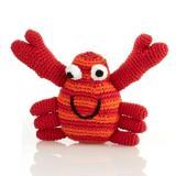 Babyrassel kleine Krabbe von Pebble rot