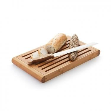 Brotschneidebrett aus Bambus