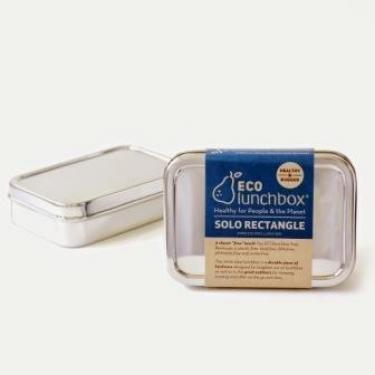 Edelstahl Brotdose - rechteckig - Solo von EcoLunchbox