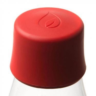 Glas Trinkflaschen von Retap 0,5L rot