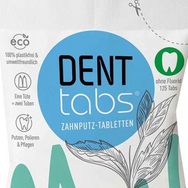 Denttabs Zahnputztabletten 125 Tabletten