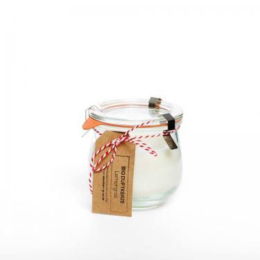 Duftkerze ohne Paraffin 250ml im Glas