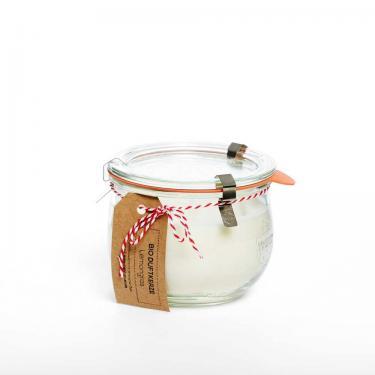 Duftkerze ohne Palmöl 400ml im Glas