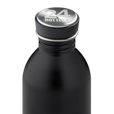 24Bottles Edelstahl Trinkflasche URBAN 250ml Tuxedo Black