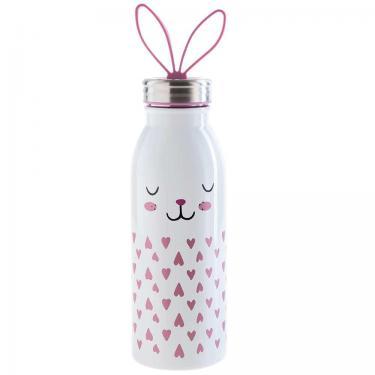 Edelstahl Trinkflasche für Kinder 425ml - Zoo von aladdin
