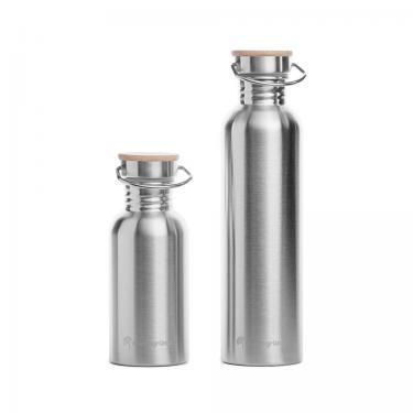 Trinkflasche 1L aus Edelstahl