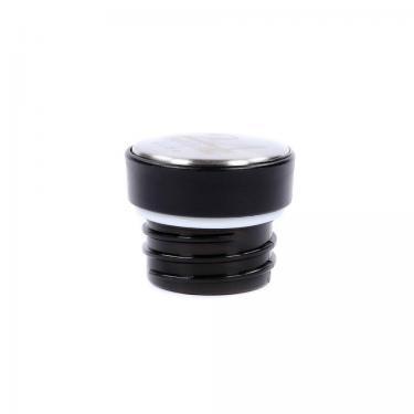 Ersatzdeckel für Edelstahl Trinkflasche 24bottles schwarz