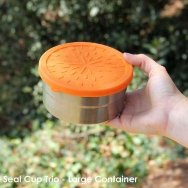 Ersatzdeckel für Snackbox Blue water Bento Set Cup Trio