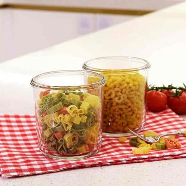 Frischhaltedose aus Glas 720ml - rund - von Glasslock