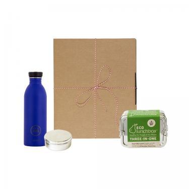 Geschenk-Set dreiteilige Brotbox 3in1