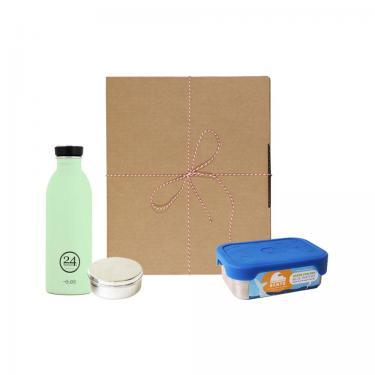 Geschenk Set Eco-Lunchbox Splash