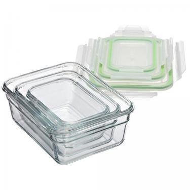 Glas Frischhaltedosen ofenfest rechteckig