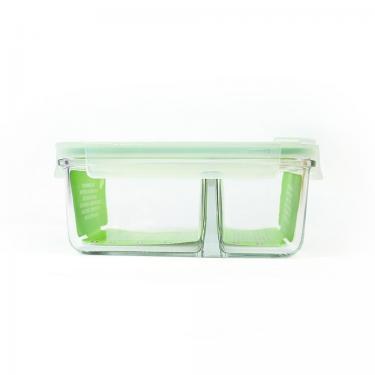 Lunchbox aus Glas mit Trenner DUO von Glasslock 1000ml