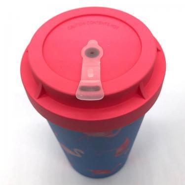Mehrweg Kaffeebecher To Go - Flamingo Overload - Heybico