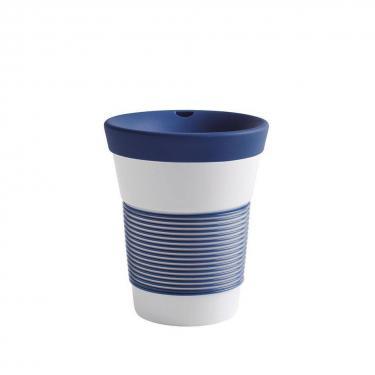 Kaffeebecher To Go aus Porzellan - 0,35L