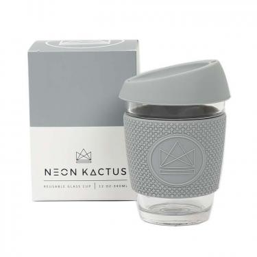 Kaffeebecher to Go aus Glas, 350ml