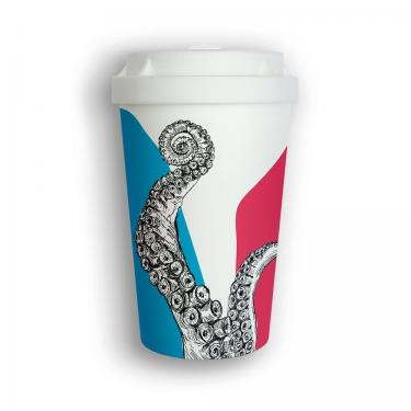 Mehrweg Kaffeebecher To Go - Herr Simon Ster - Heybico
