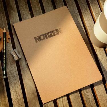Notizheft A5 Blanko Notiz