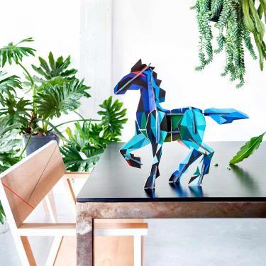 "Bastelspielzeug ""Frysk Horse 2"" von Studio ROOF"