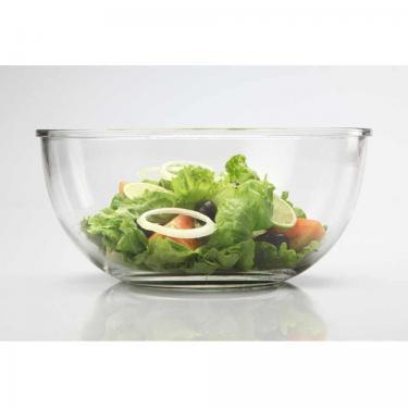 Salatschüssel aus Glas 2000ml