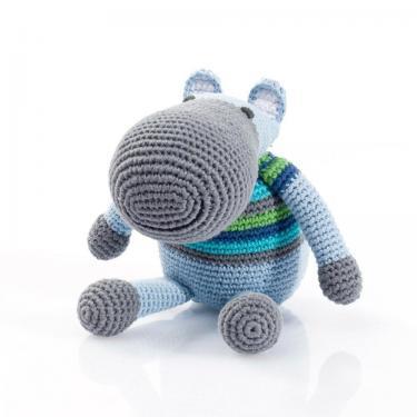 Schmusetier Hippo von Pebble