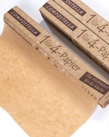 Backpapier silikonfrei 1 für 4 von Compostella