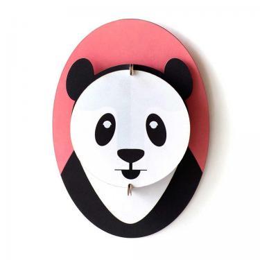 Kreative Wanddekoration für das Kinderzimmer - studio ROOF Panda