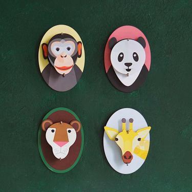Kreative Wanddekoration für das Kinderzimmer - studio ROOF