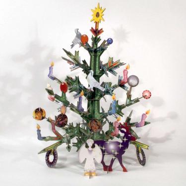 Weihnachtsbaum XMAS Tree 3D Puzzle