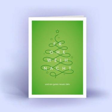 Weihnachtskarten DIN A6 im 5er Set