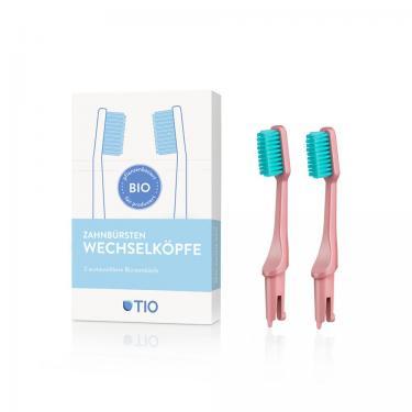 Wechselköpfe TIO Zahnbürste aus Biokunststoff