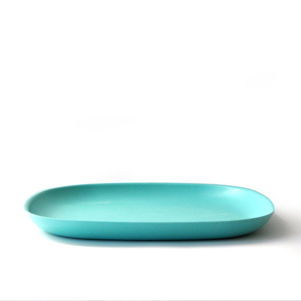 bambusgeschirr gusto by ekobo gro er essteller t rkis in alle produkte im online shop von mehr. Black Bedroom Furniture Sets. Home Design Ideas