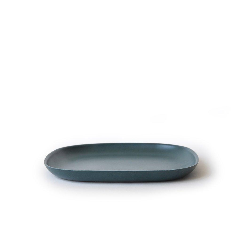 bambusgeschirr gusto by ekobo kleiner beilagenteller blau in alle produkte im online shop von. Black Bedroom Furniture Sets. Home Design Ideas