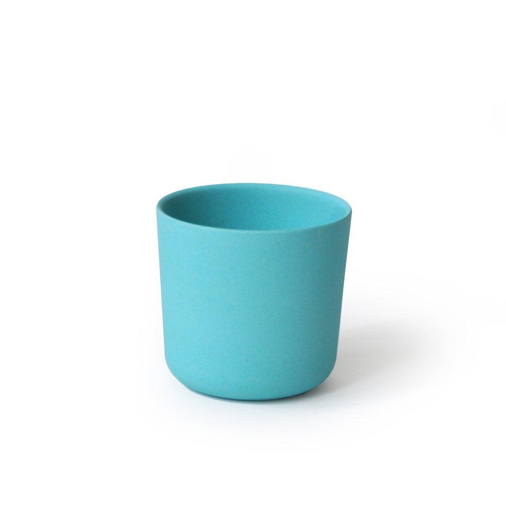 bambusgeschirr gusto by ekobo kleiner becher t rkis in gusto im online shop von mehr gr. Black Bedroom Furniture Sets. Home Design Ideas