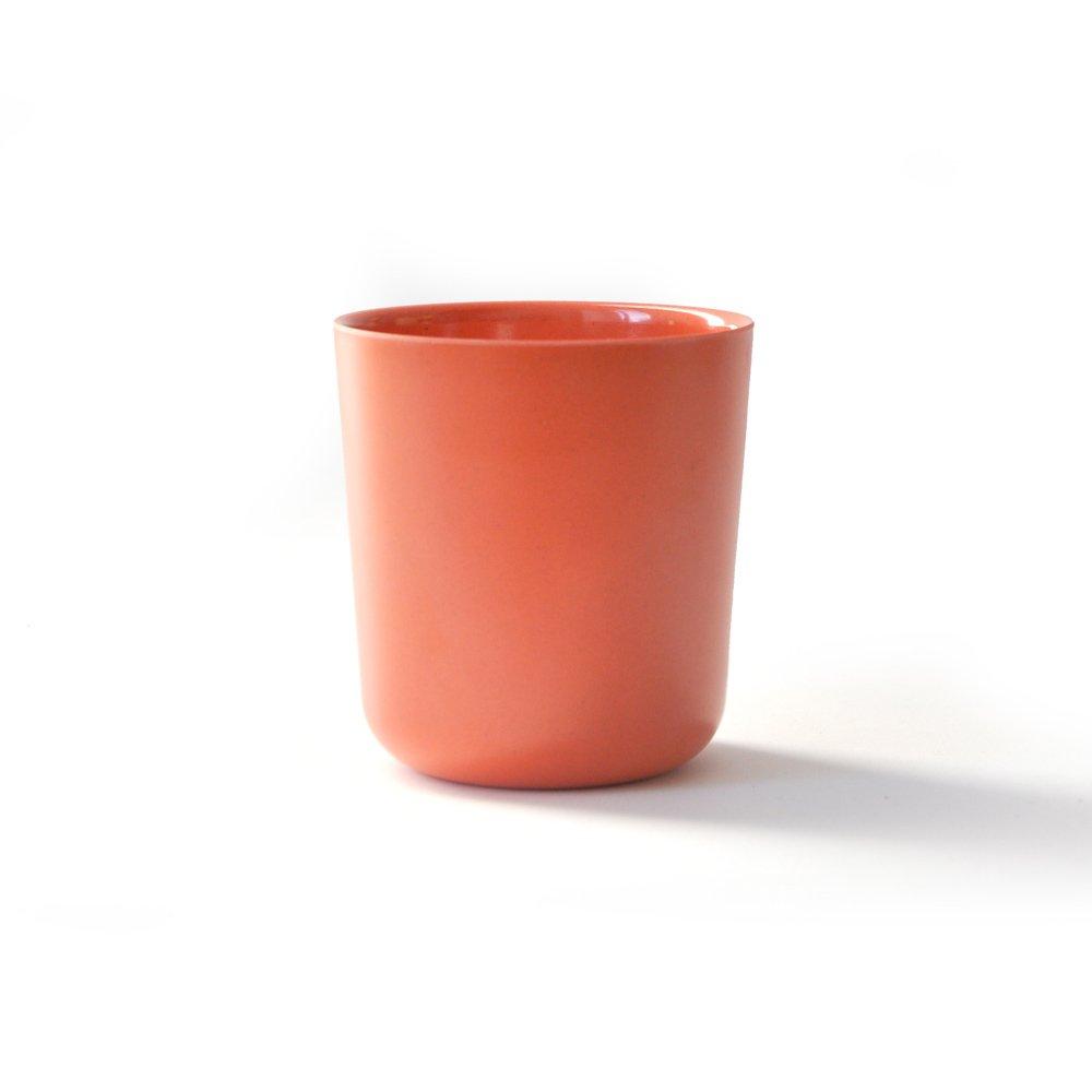 trinkbecher medium von biobu gusto orange in bad und wc im online shop von mehr gr. Black Bedroom Furniture Sets. Home Design Ideas