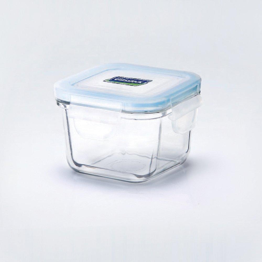 kleine frischhaltedose aus glas perfekt f r die k che. Black Bedroom Furniture Sets. Home Design Ideas