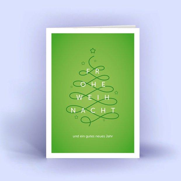 moderne weihnachtskarten din a6 im 5er set. Black Bedroom Furniture Sets. Home Design Ideas