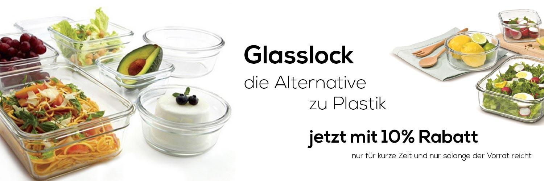 Frischhaltedosen aus Glas Glasslock Banner 3