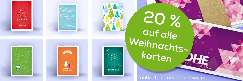 Weihnachtskarten Sale